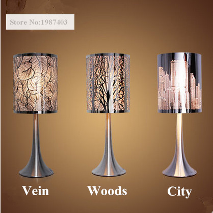 Nordic Style Creative Stainless Steel Table Lamps American Modern Charming  Fixtures For Bedroomu0026studyu0026bedside YS001 In Table Lamps From Lights U0026  Lighting On ...
