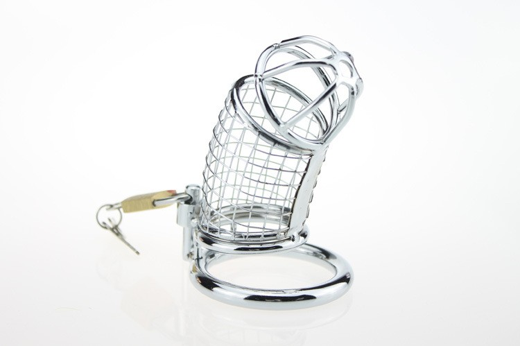 Plastic Male chastity lock Chastity Device with urethral catheter 8mm Chastity Belt Cock Cage Penis Ring Bondage Sex Toys