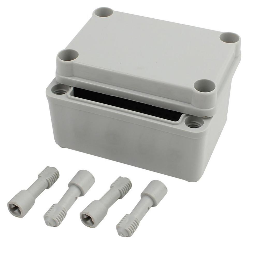 DIY Electronic Box Waterproof Plastic Electrical Transparent Cover Enclosure Junction Holder Case 95x65x55mm