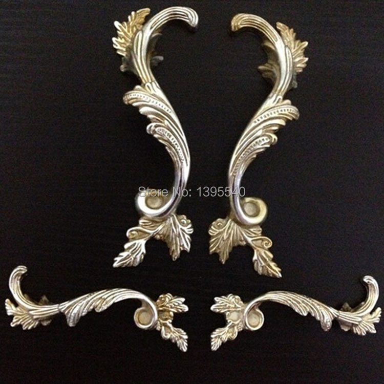 128mm Phoenix Kitchen Cabinet Antique Hanles Furniture Dresser Vintage Knob Cabinet Cupboard Closet Drawer Handle Pulls Rongjing phoenix kitchen cabinet drawer knob furniture handel