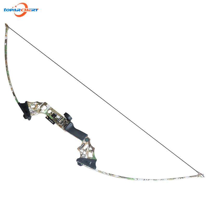 Archery Hunting Bow Fishing Straight Long Bow 40lbs For