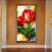 5d Diy Diamond Painting Rose Peony Flowers Diamonds Embroidery Round Cross Stitch Kits Diamond Mosaic Home