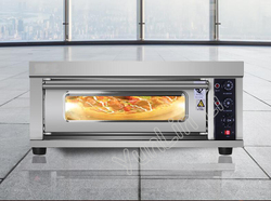 Household Electric Oven Multifunctional Baking Machine Pizza Cake Bread Toaster Machine With Import Stone & Time Seting