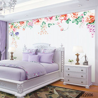 Custom DIY Fabric Textile Wallcoverings For Walls Clothing Jacquard Linen For Living Bedding Room Flower Wallpaper
