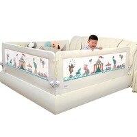 Детская кровать детская кровать забор 1.5 2 м осень ограждение повышение перегородка железнодорожных кровать с большим карманом