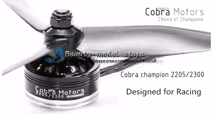 New 100% Original COBRA CP2205 KV2300 motor aerospace motor level for DIY FPV racing mini drone QAV250/QAV-R/QAV-X quad cobra motor cp1407 3700 qp kv 3700 4pcs pack brushless motor for mini drone racing fpv racing free shipping