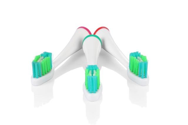4 unids reemplazo de sonic cepillo de dientes eléctrico heads vitality precision clean ee. uu. dupont cepillos de dientes higiene bucal