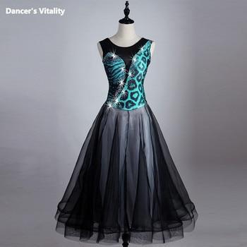 2017 Ballroom Dancing Dress Newest Design Woman Modern Waltz Tango Dance Dress/standard Ballroom Competition Costume