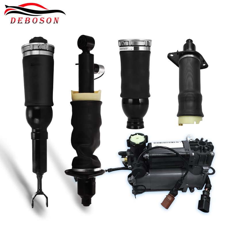 Free shipping for Audi A6 C5 Allroad Quattro Air Suspension spring air Shock Air spring Air Compressor 4Z7616052A free shipping best quality air spring rear 37126765602 37126765603 for bmw e61 5 series air suspension spring