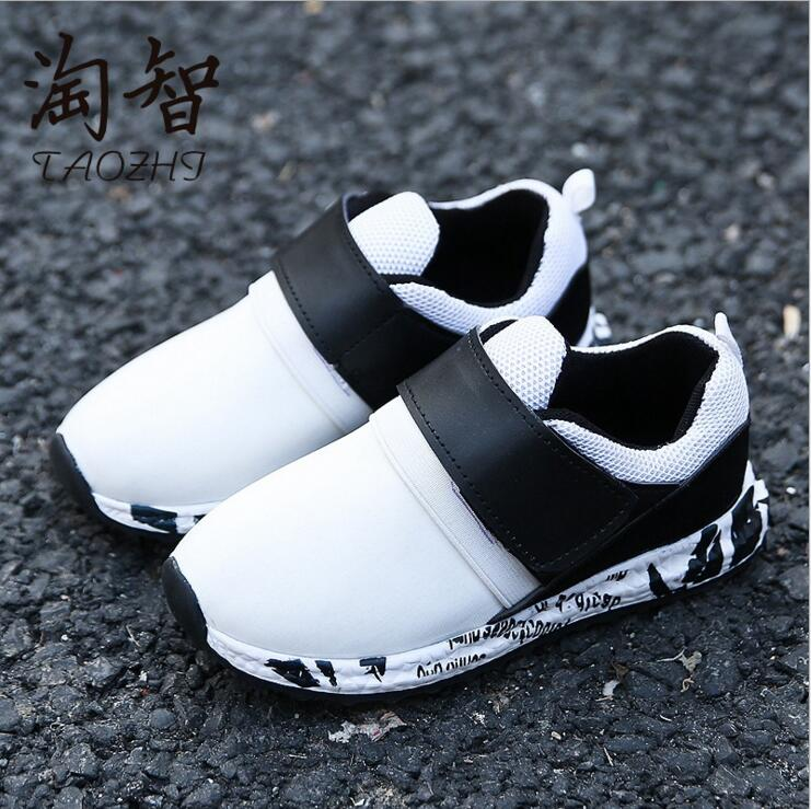 2017 merk kids sportschoenen kind casual schoenen vrouwelijke jongens - Kinderschoenen - Foto 2