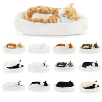 Simulation Animal Simulation Cat Breathing Lovely Cat Birthday Gift Animal Model