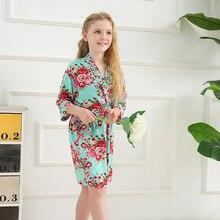Kids Bath Robes Little Girls for spring and summer  Girl Kimono 9730