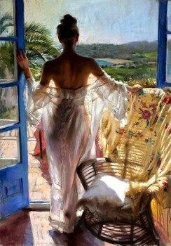 Handcraft beautiful Modern Art Oil Painting On Canvas