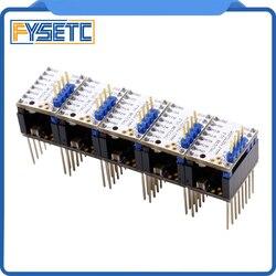 5X MKS TMC2130 V1.1 For SPI Function Stepstick Stepper Motor Driver With Heat Sink 5PCS Step Stick Protector VS TMC2130 V1.0