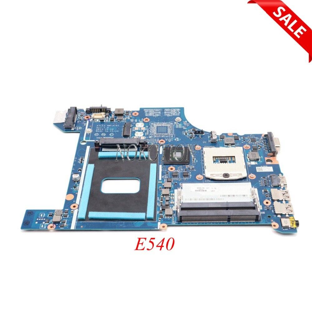 NOKOTION Laptop Motherboard for Lenovo ThinkPad edge E540 FRU 04X4781 AILE2 NM-A161 HM87 GMA HD5000 DDR3 Main board nokotion brand new laptop motherboard fru 00hm977 00hm971 04x4082 04x4074 for lenovo thinkpad t440p vilt2 nm a131