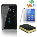 Wireless WiFi Video Door Phone Monitor Home Security Doorbell Waterproof for Android/iPhone