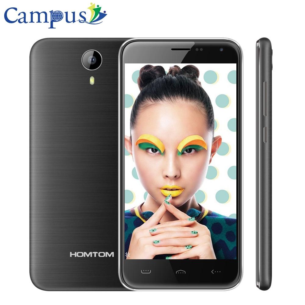 Original Homtom HT3 Quad Core 3G Smartphone MTK6580 5 0 1280X720P Android 5 1 3G WCDMA