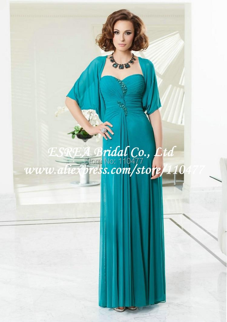 Perfecto Madre De Los Vestidos De Color Turquesa Novio Componente ...