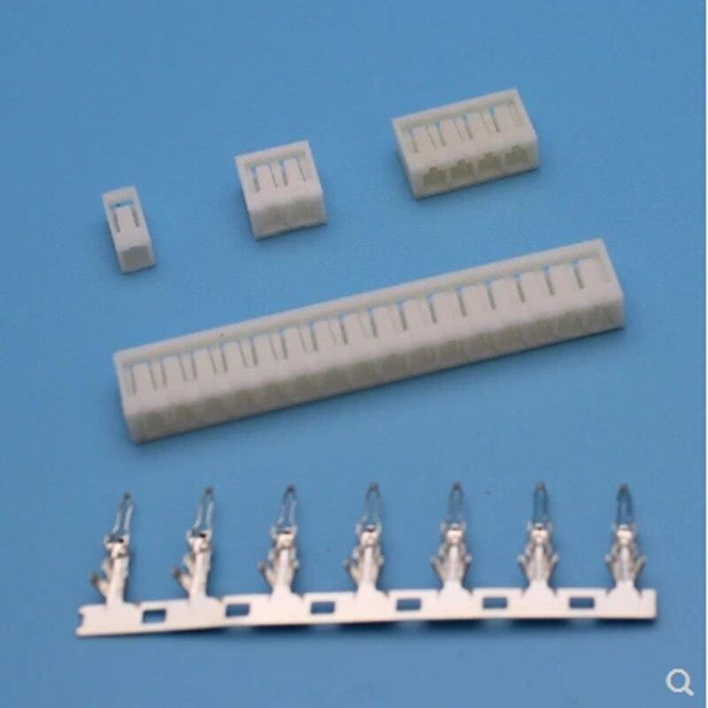 3 set terminals connectors 2Pins3P4P5P6P7P8P9P10P12pins15pins16pins20pins 2.5mm space pitch plastic glue shell SCN