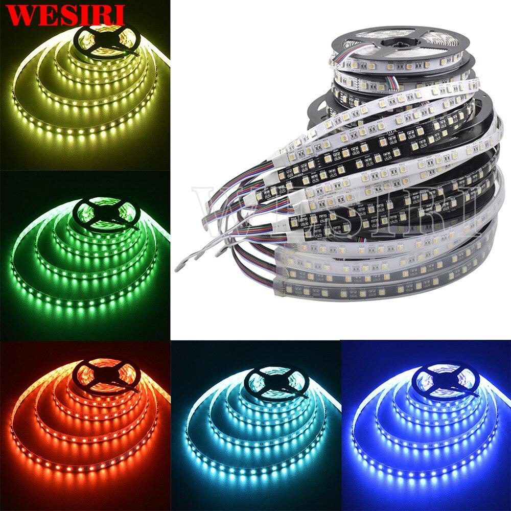 Wesiri 5m 12v/24v 5050 Rgbw Led Strip Light 4 Colors In 1 Smd 5050 Led Chip 60 Leds/m Mixed Color Led Strip Light Be Shrewd In Money Matters Led Lighting