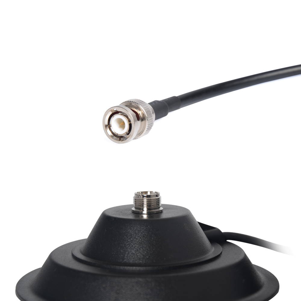5M Feeder Cable 13CM Magnet BNC Port Two Way Radio Magnetic Antenna Base For Car Radio Mobile Radio