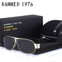 2016 New Arrivals Men Loved Fashion Polarized Brand Sunglasses New Uv400 Stainless Top High Quality Sun