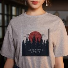Летняя женская новая модная повседневная футболка с короткими рукавами и принтом в виде мультяшных букв в стиле Харадзюку, S-2XL