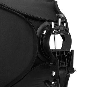 Image 5 - Godox 40x40 cm 50x50 cm 60x60 cm 80x80 cm + S loại khung + Tổ Ong Lưới Ajustable Flash Softbox Mount Kit cho Flash Speedlite