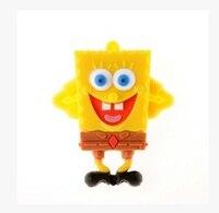 100% real capacity usb flash drive Gift Cartoon sponge8gb/16gb USB flash drive Memory Stick pen drive usb flash drive S57
