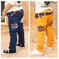 2016 New Children Spring and Autumn Pants Baby Boys Wearing Korean Styling Fashion Kid's Causual Trousers for 3-8 Years old