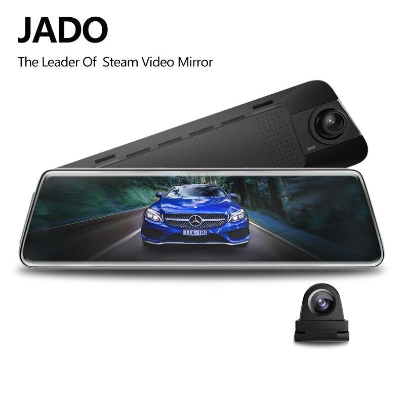 JADO Car Dvr Rearview-Mirror-Dvr Dash-Cam Stream D230x1 Touch-Screen Night-Vision 1080P