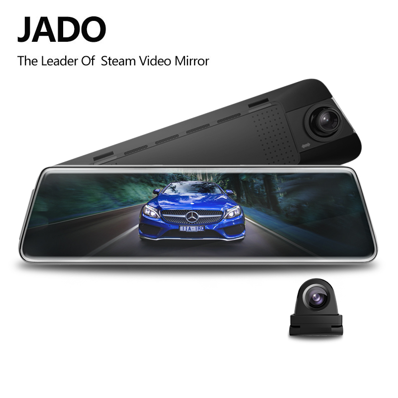JADO D230 X1 Stream RearView Mirror <font><b>Dvr</b></font> dash Camera avtoregistrator 10 IPS Touch Screen HD 1080P <font><b>Car</b></font> <font><b>Dvr</b></font> dash <font><b>cam</b></font> Night Vision image