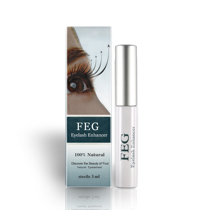 200PCS FEG Eyelash Eyebrow Enhancer Eyelash Serum Eyelash Eyebrow Growth Serum Natural Herbal Medicine EyeLashes Mascara Longer