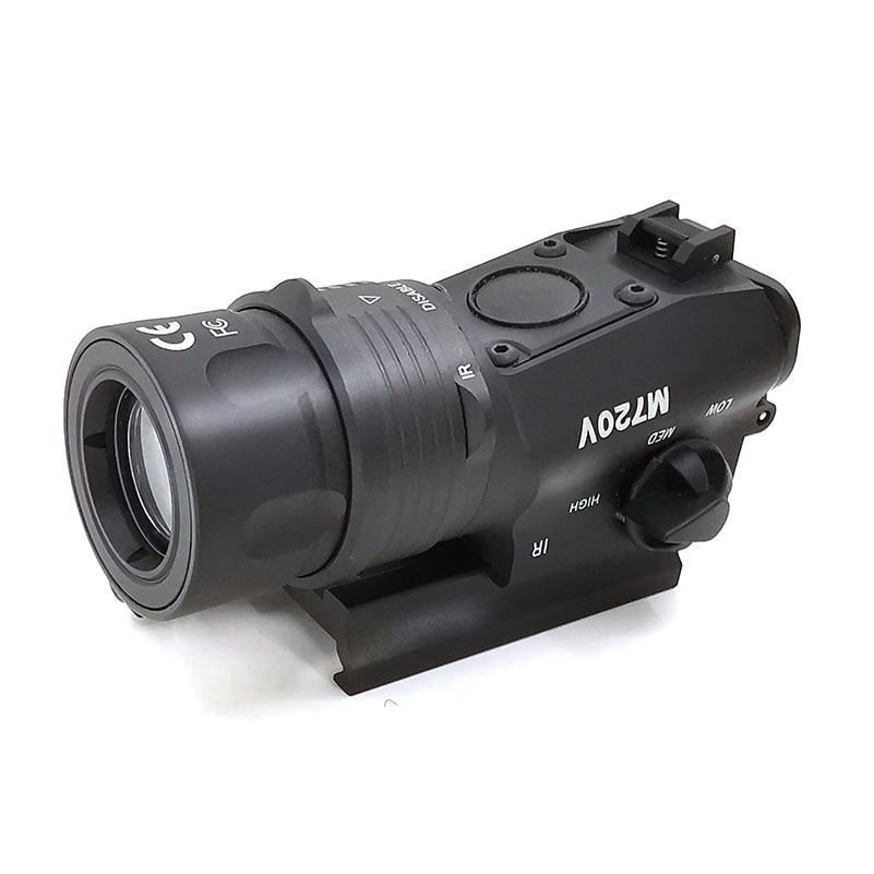 SOTAC-GEAR Tactical M720V LED Flashlight  strobo Flashlight Hunting Softair Ir Lamp Arma Rifle Gun Lantern For Hunting