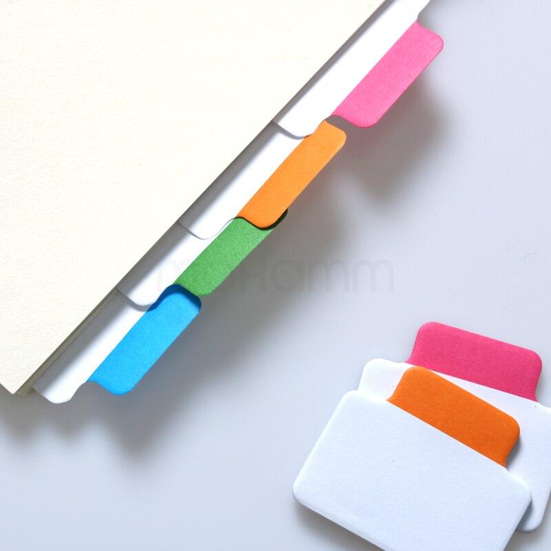 Schreiben-On Abnehmbaren Index Tab Aufkleber Buch In Notebook Notizblock Post Es Schreibwaren...