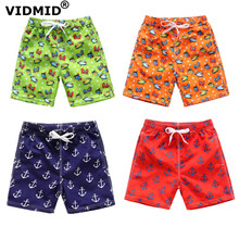VIDMID Kids Children shorts baby Boys Cartoon Print Beach Shorts trousers boys summer beach childrens clothes 4077 02