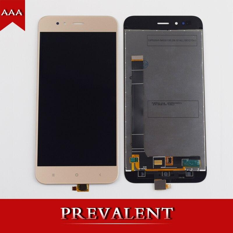 Per Xiao mi mi A1 mi A1 mi 5X MI 5X touch SCREEN digitizer sensore + Display Lcd Del Pannello di Montaggio