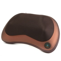 1Pcs Multifunction Deep Relax Massage Pillow Electric Massager Heat Neck Back Shoulder Cushion Home Car Massage