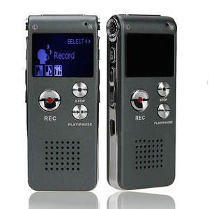 Mp3-Player Dictaphone Audio-Recorder Digital Portable 8GB 609 003 Lcd-Screen