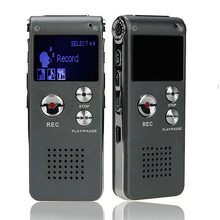 003 portátil tela lcd 8gb gravador de voz digital telefone gravador de áudio mp3 player ditaphone 609