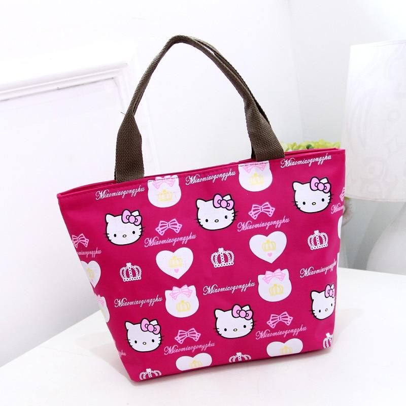 2d05b6f3492a Hello Kitty Designer Handbags High Quality Waterproof Shoulder Bag Girls  Women Shopping Purses And Handbags