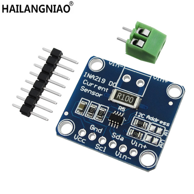 5pcs/lot Zero drift CJMCU   219 INA219 I2C interface Bi directional current/power monitoring sensor module