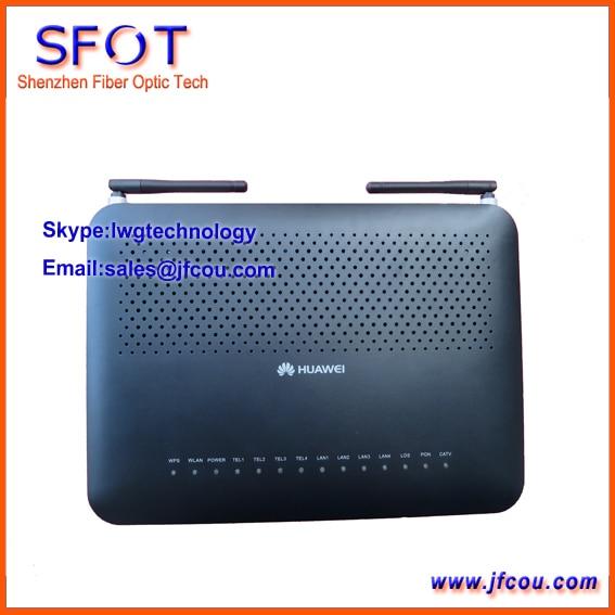 Huawei Echolife HG8247 GPON терминал FTTO или FTTH ONU с 4 порты ethernet и 2 ГОРШКИ, одного КАБЕЛЬНОГО ТЕЛЕВИДЕНИЯ порт, WI-FI функция