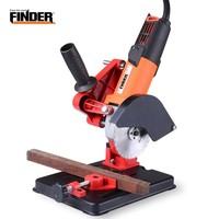 Electric Angle Grinder Drill Stand Multifunctional Fixed Bracket Holder Cutting Machine Hand Power Tool Part Accessory