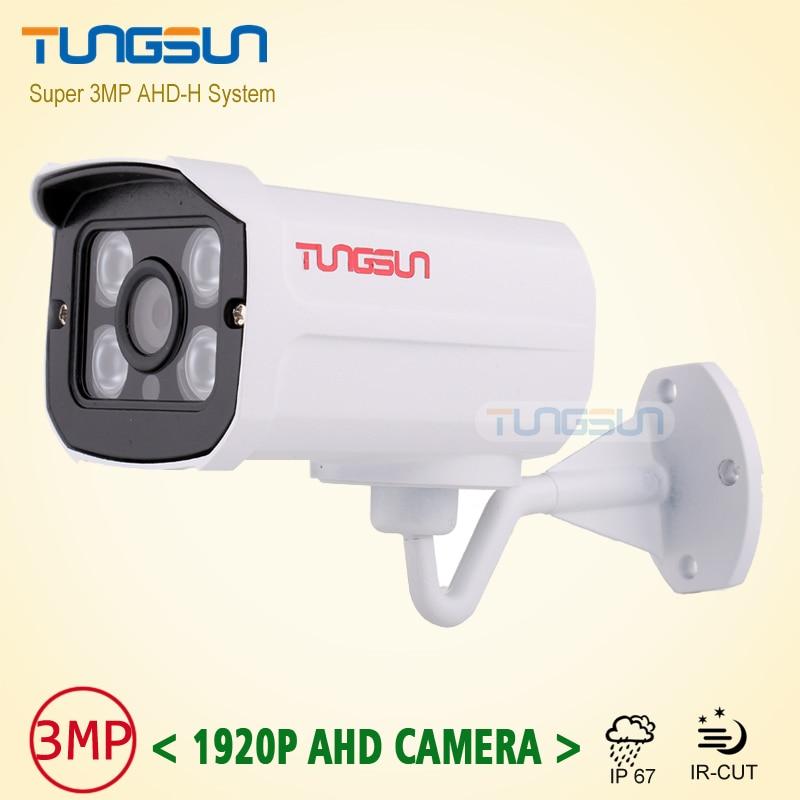 bilder für Qualität Picks Super CCTV 3MP HD 1920 P AHD Kamera Sicherheit Metallgehäuse Videoüberwachung Im Freien Wasserdichte 4 * Array infrarot