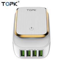 TOPK 4-Port iPhone Auto-ID