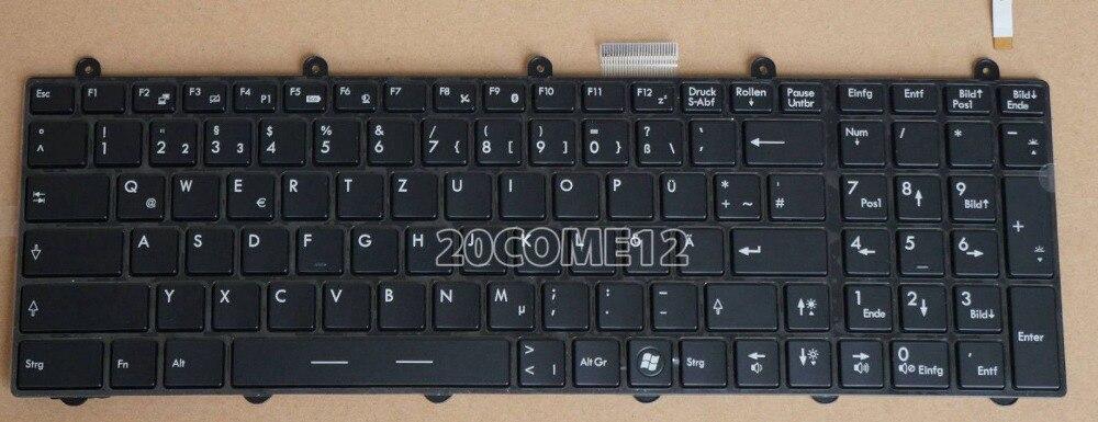 New notebook Laptop keyboard for MSI GT60 GT70 MS-1762 German Deutsch DE GR QWERTZ Frame ru russian for msi ge60 gt60 ge70 gt70 16f4 1757 1762 16gc gx60 gx70 16gc 1757 1763 backlit laptop keyboard