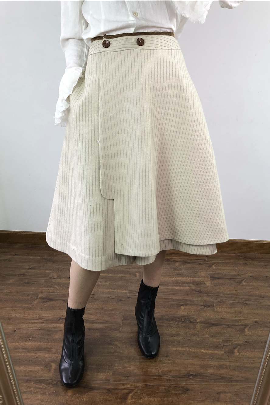 Jambe Laine Femmes Nouveau Pantalon Large Rayé 2019 Yichenyiyi Printemps WwYIqExF