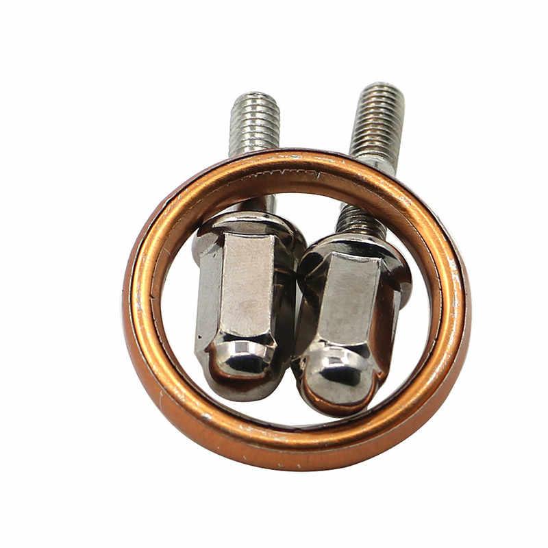 ホンダ CG125 XL125 CB125 CD200 CM200 オートバイ排気管コレット首輪クランプホルダーキット 26 または 18 ミリメートル CG XL CB 125 XL185