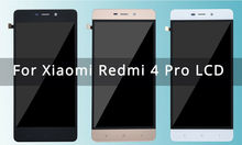 5.0 Original LCD For XIAOMI Redmi 4 Pro Display Prime Touch Screen with Frame Digitizer